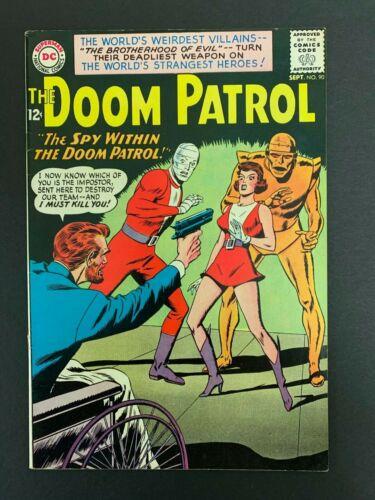 DOOM PATROL #90 *VERY SHARP!* (DC, 1964) O/W Pages!