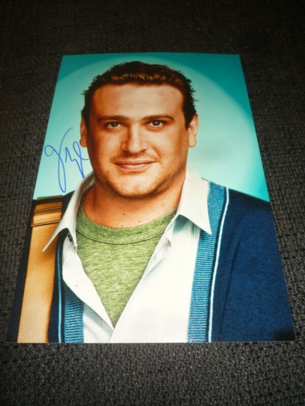 "JASON SEGEL signed Autogramm auf 20x30 cm ""HOW I MET YOUR MOTHER"" Foto InPerson"