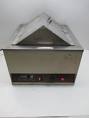 Heinicke Co National Appliance 220a Laboratory Heated Water Bath 12 X 13 X 7