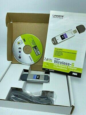 Linksys Compact Wireless-G USB Network Adapter With SpeedBooster WUSB54GSC (Compact Wireless G Usb Network Adapter With Speedbooster)