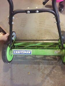 "20"" craftsman mower"