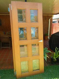 Solid timber doors with glass panel insets Robina Gold Coast South Preview