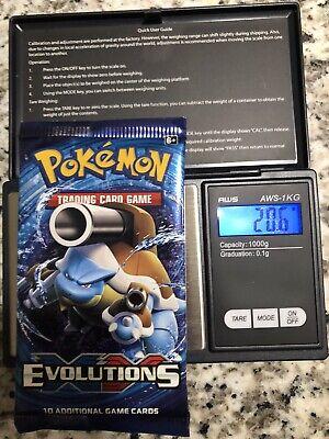 Pokemon TCG XY Evolutions 20.6g Heavy Pack