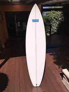 """GSI 7S - 6'7"""" Surfboard with case, comb and wax (HARDLY USED) Mount Eliza Mornington Peninsula Preview"""