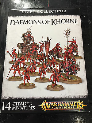 Warhammer Age of Sigmar Fantasy Start Collecting Daemons of Khorne