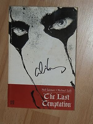 ALICE COOPER  - SIGNED  The Last Temptation Softback Comic Book Wembley Arena