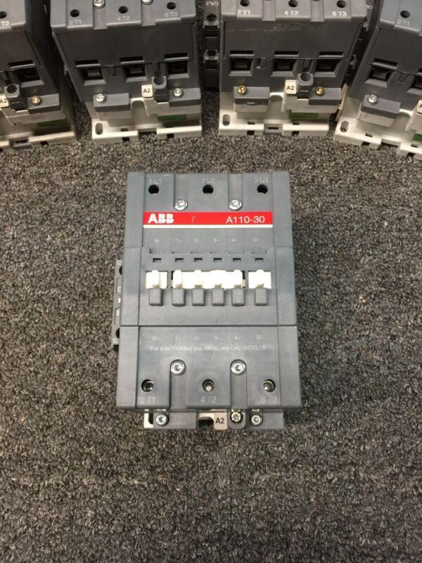 ABB Contactor A110-30 120 Volt Coil Cal18-11