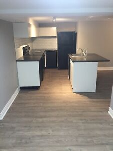 Two bedroom basement apartment in the north end