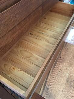 Five drawer tallboy