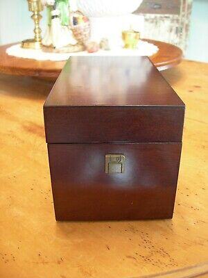 Vintage Bombay Business Card Holder Box