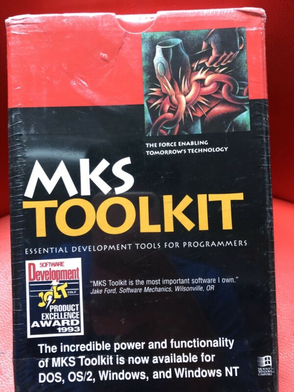 MKS Toolkit Essentials Develop Tools For Programmers Set Manuals New Sealed