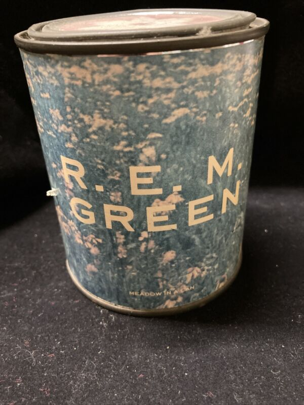 REM Green Promo Item Medow In A Can 1989 Rare