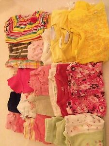 Girls 6 to 12 month summer lot