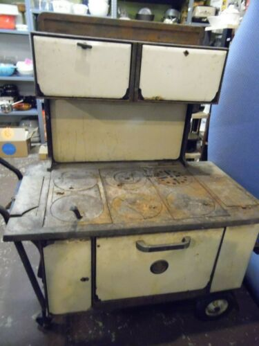 Antique Montgomery Ward Wood Cook Stove