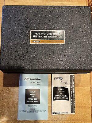 BK 470 Picture tube tester/rejuvenator