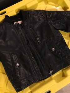 Baby leather jackets