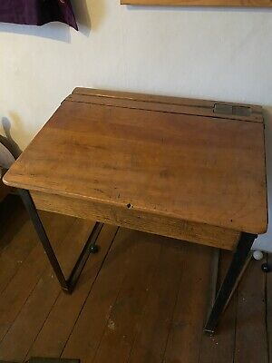 Vintage Old School Single Desk 80's 90's