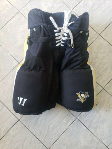 Pittsburgh Penguins pro stock hockey pants, large, Bauer/Warrior customs