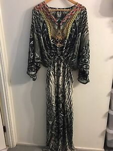Camilla Franks 100% Silk Kaftan Dress Kellyville The Hills District Preview