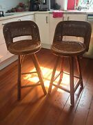 Vintage Cane Chairs x2 Kangaroo Point Brisbane South East Preview