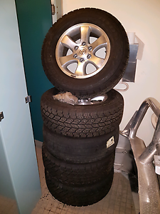 5 Prado rim & tyres Prestons Liverpool Area Preview