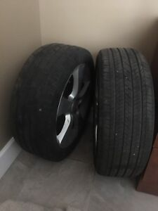 4 tires and wheels mazda 3
