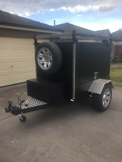 Brand new 6x4 enclosed box trailer
