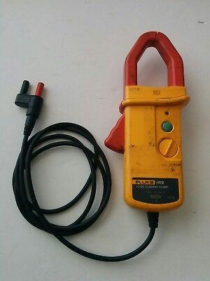 Fluke I410 Ac Dc Current Amp Clamp 600a Adapter For Fluke Multimeters 600v 400a