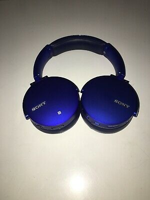 Sony MDR-XB950B1 Extra Bass Wireless/Bluetooth Headphones Blue