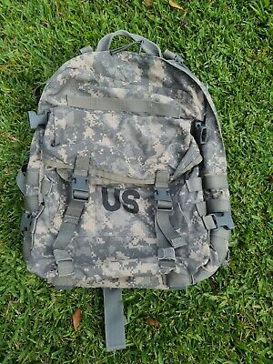 US ARMY USGI ACU Molle II 3 Day Assault Pack Backpack with Stiffener & FREE Gear