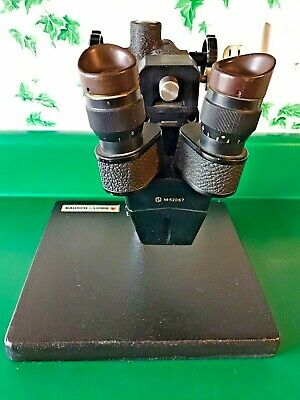 Stereo Zoom Microscope Wbausch Lomb Stand