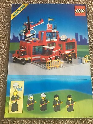 Lego 6389 Town City Classic - Fire Control Center Instructions Manual Only