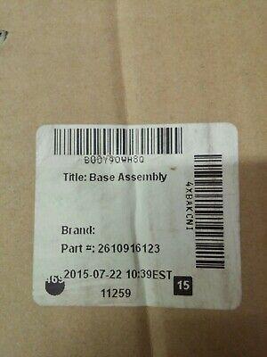BOSCH 3912 COMPOUND MITER SAW BASE PLATE ASSEMBLY PART KIT 2610916123