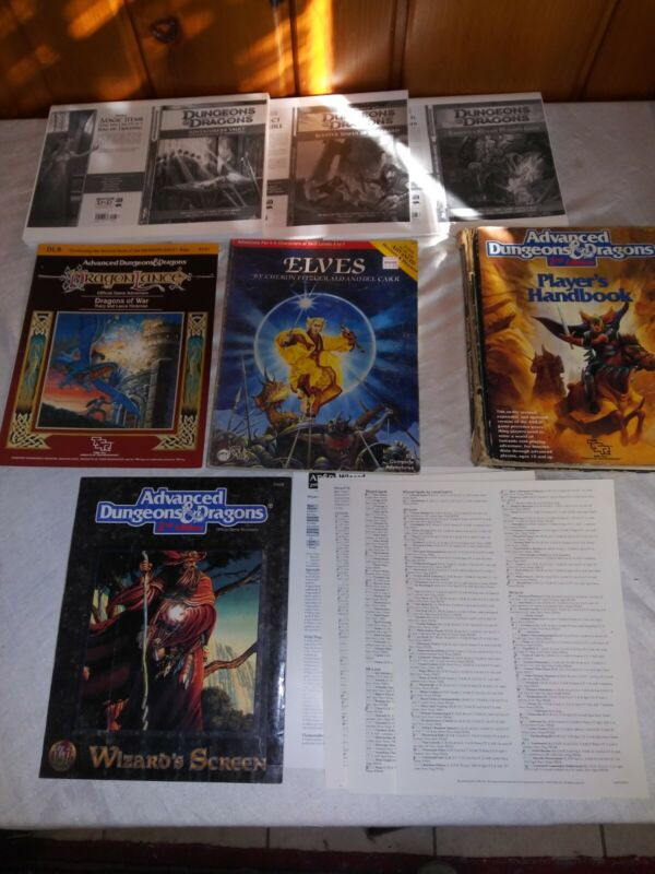 Vintage Dungeons and Dragons TSR Lot