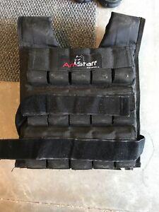 AmStaff Adjustable 60lb Weight Vest