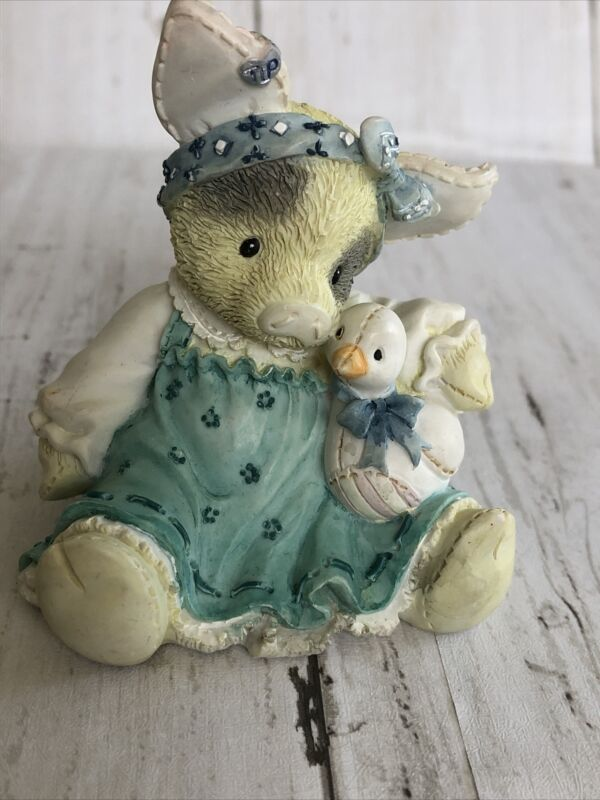 This Little Piggy DUCKY TO HAVE A FRIEND LIKE YOU Pig Piglet TLP Enesco Figurine