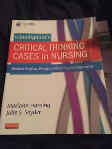 Critical thinking cases in nursing 6th edition