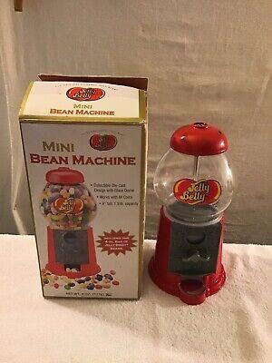 Jelly Belly Mini Bean Machine Jelly Bean Dispenser 1.5lb Capacity, Use Any Coin. (Jelly Bean Dispenser)