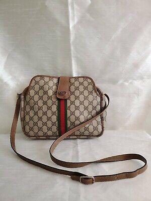 Vintage Gucci Shoulder crossbody bag Old Sherry line (MP3799