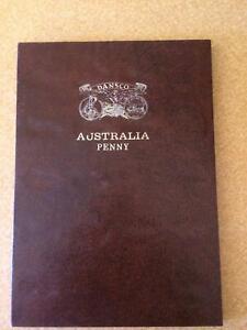 AUSTRALIAN MINTED PENNY FULL SET 1911 TO 1964