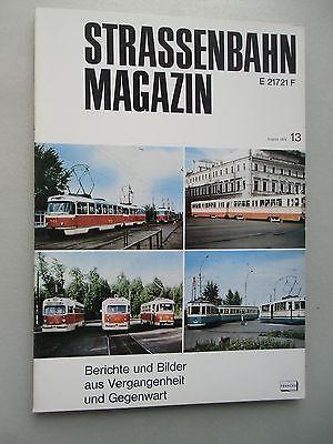 Straßenbahn Magazin elektrische Nahverkehr Berichten Bilder ... Nr. 13 Aug. 1974