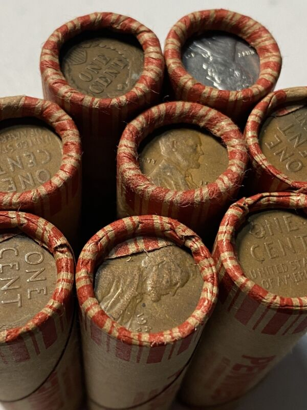 Unsearched Wheat Penny Roll. Buy 5 Get 1 Free