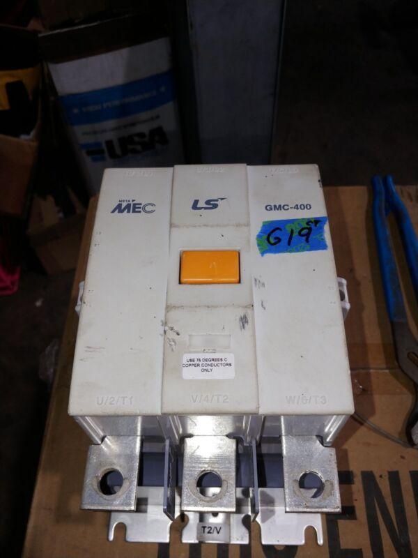 LS MEC GMC-400 450A 3 POLE CONTACTOR EXCELLENT CONDITION