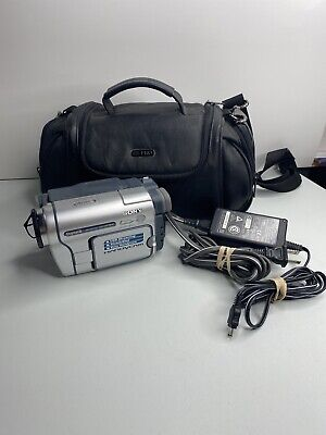 Sony HandyCam DCR-TRV260 Digital 8 Camcorder VCR Player Camera With Charger