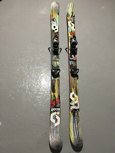 Ski alpin twin-tip