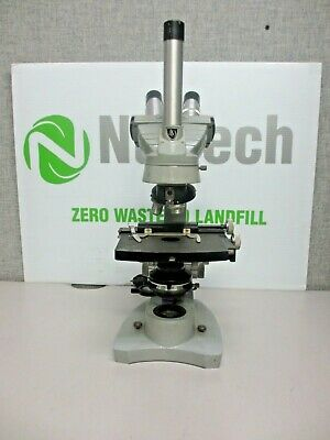 Spenceramerican Optical Dual Viewing Teaching Microscope W 2 Objectives