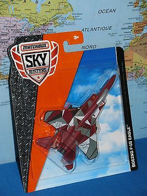 MATCHBOX MBX SKY BUSTERS BOEING F-15 EAGLE AIRPLANE ***BRAND NEW & VHTF***
