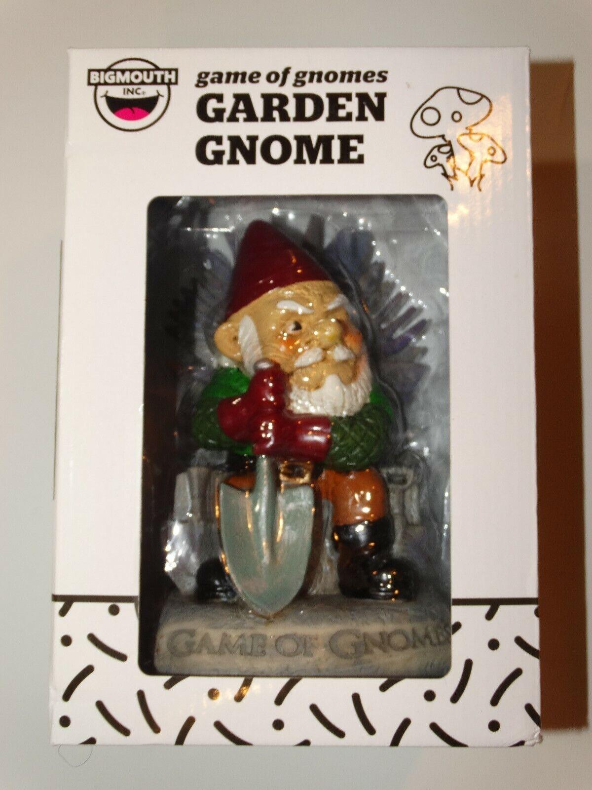 Game Of Thrones Gnome Statue Funny Lawn Sculpture Garden Dec