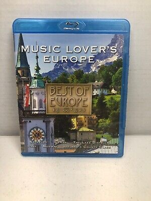 Best of Europe: Music Lover's Europe [Blu-ray/DVD