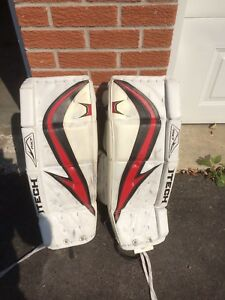 Youth goalie pads for sale